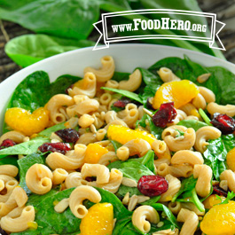 Recipe Image for Spinach Pasta Salad