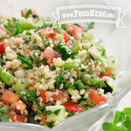 Recipe Image for Tabouli Bulgur Wheat Salad