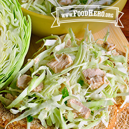 Recipe Image for Tuna Cabbage Salad