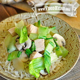 Recipe Image for Vegetables and Turkey Stir-Fry