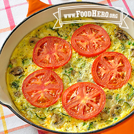 Recipe Image for Veggie Skillet Eggs