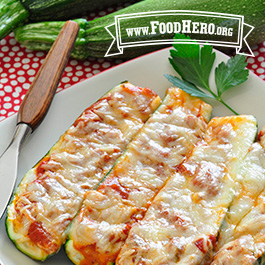 Recipe Image for Zucchini Pizza Boats