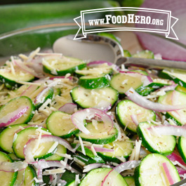 Recipe Image for Zucchini Salad