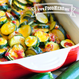 Recipe Image for Zucchini Tomato Bake