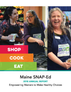 Image of the cover of the Maine SNAP-Ed 2018 Annual Report