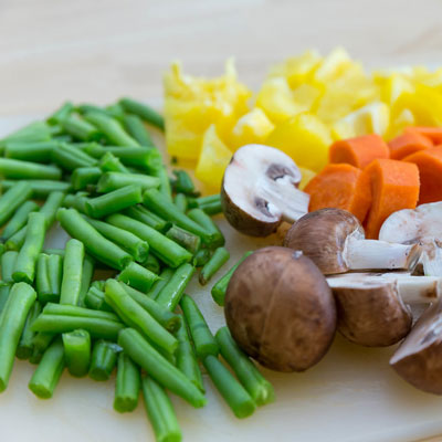 Recipe Image for Green Bean and Mushroom Medley